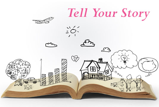 Tell Your Story graphic