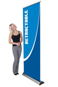 Retractable Pop Up Banners